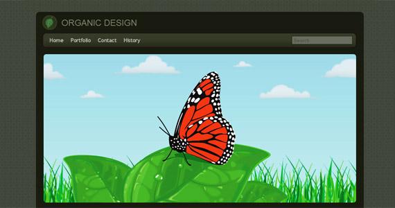 organic-design-css-xhtml-template