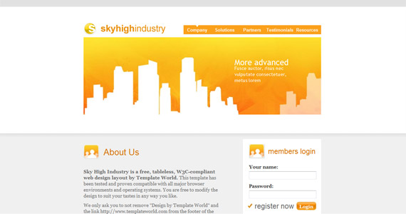 skyhighindustry-xhtml-css-template