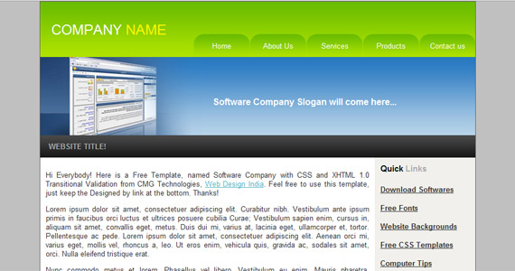 software-company-xhtml-css-template