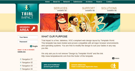 trial-impact-xhtml-css-template