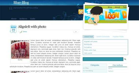 blue-blog-professional-wordpress-theme