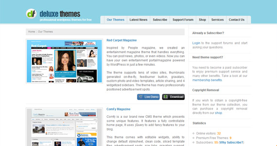 deluxe-professional-wordpress-themes