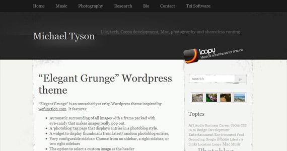 elegant-grunge-professional-wordpress-theme