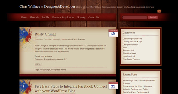 rusty-grunge-professional-wordpress-theme