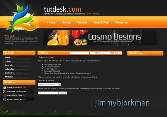 Tutdesk com-inspiration