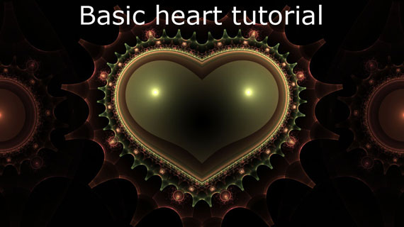 Basic Heart Tutorial apophysis