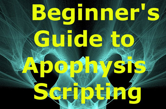 Beginners Guide to Scripting tutorial