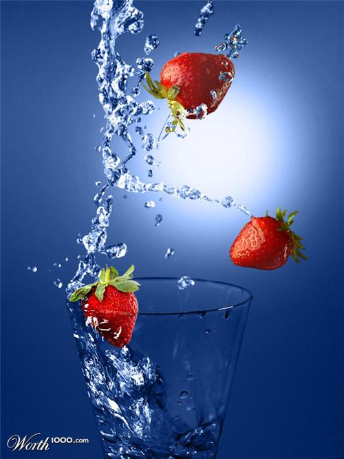 cheers-strawberry-photomanipulation