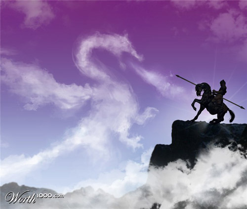 dragon-cloud-photomanipulation