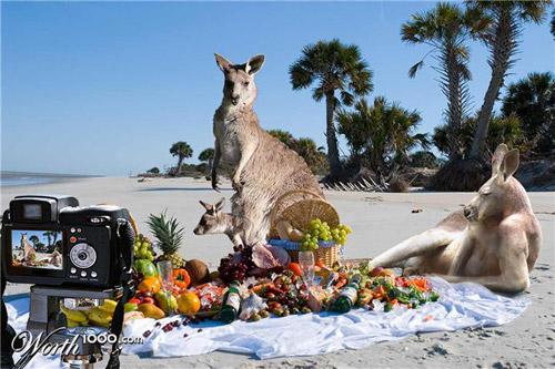 family-picnic-photomanipulation