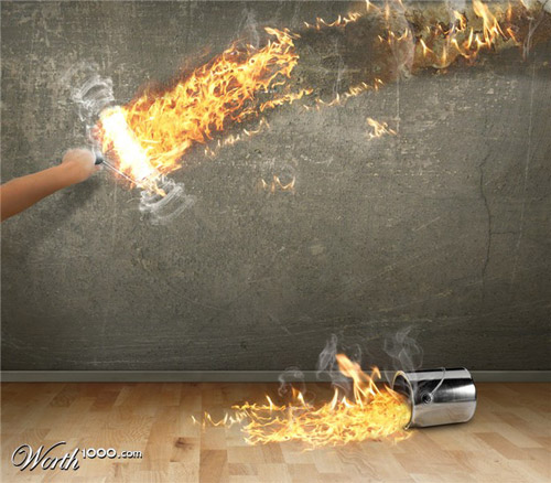 fire-roller-photomanipulation