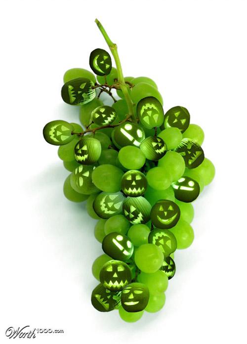 grape-o-lanterns