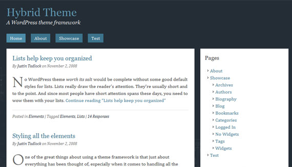 hybrid-wordpress-theme-framework
