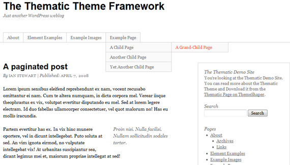 thematic-wordpress-theme-framework