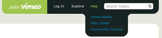 create-vimeo-like-top-navigation