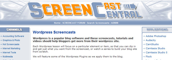 screencast-central-wordpress-video
