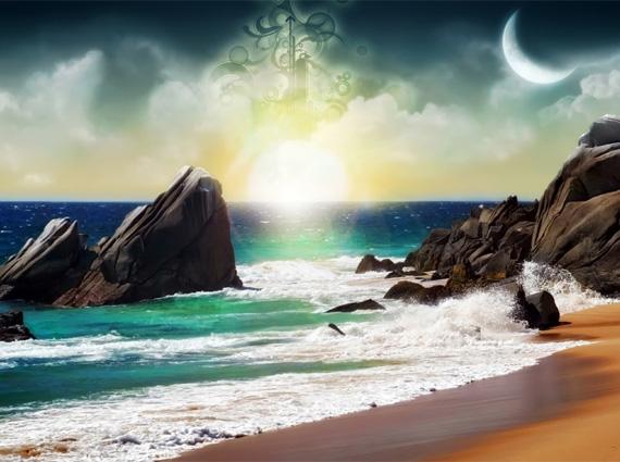 landscape-reaching-for-stars-wallpaper