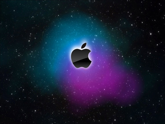 Wallpaper Apple Galaxy