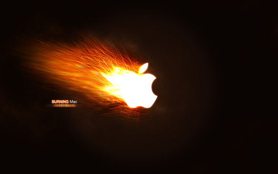 Wallpaper Burning Mac