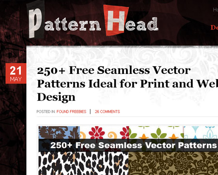 pattern-head-free-vector-patterns