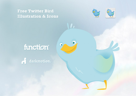 free-twitter-bird-illustration-icons
