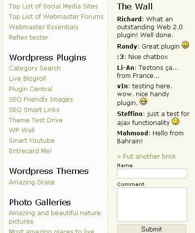wp-wall-wordpress-plugin