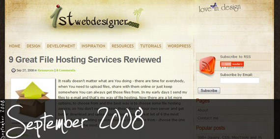 1stwebdesigner-september