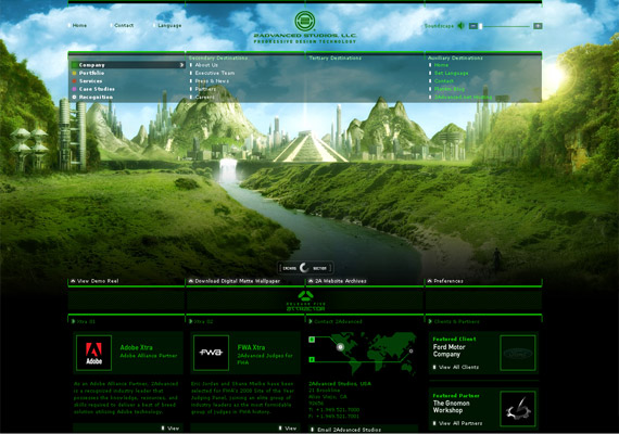 50 Gorgeous Flash Websites You Definitely Should See