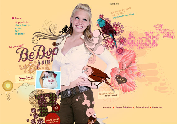 bepop-jeans-creative-flash-webdesign-inspiration