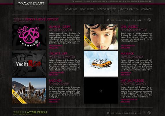 drawingart-creative-flash-webdesign-inspiration