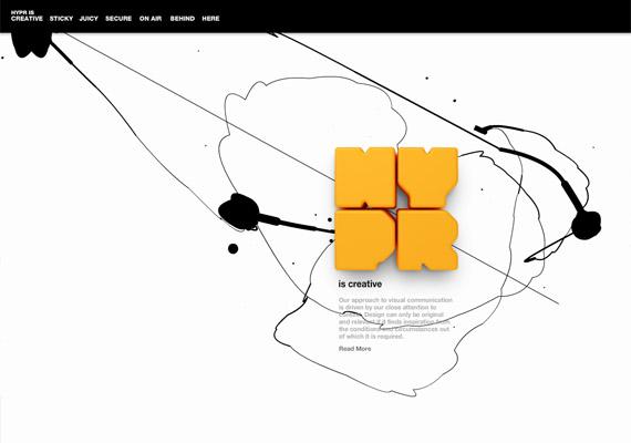 hypr-creative-flash-webdesign-inspiration