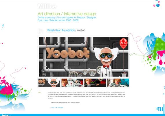 millice-creative-flash-webdesign-inspiration