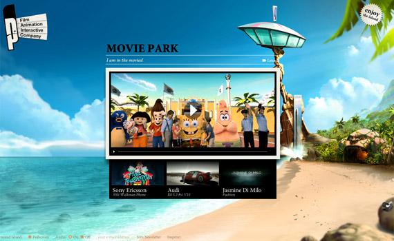 parasol-island-creative-flash-webdesign-inspiration