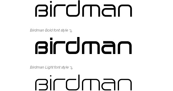 birdman-free-high-quality-font-for-download