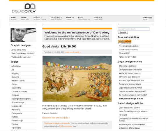 david-airey-minimalist-web-design-inspiration