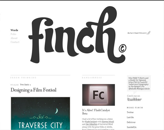 get-finch-minimalist-web-design-inspiration