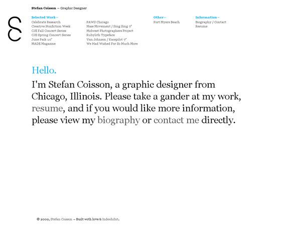 hello-stefan-minimalist-web-design-inspiration