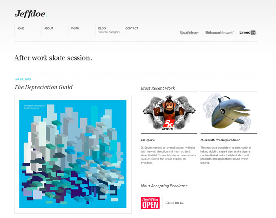 jeff-doe-minimalist-web-design-inspiration