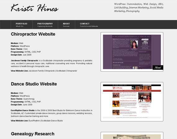 kristi-hines-minimalist-web-design-inspiration