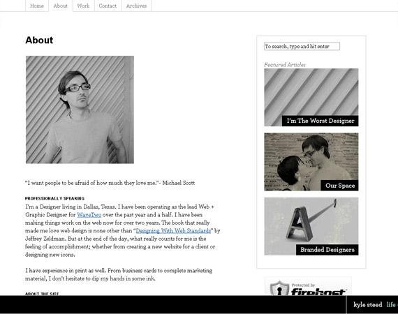 kyle-steed-minimalist-web-design-inspiration