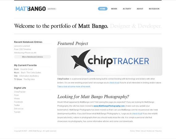 matt-bango-minimalist-web-design-inspiration