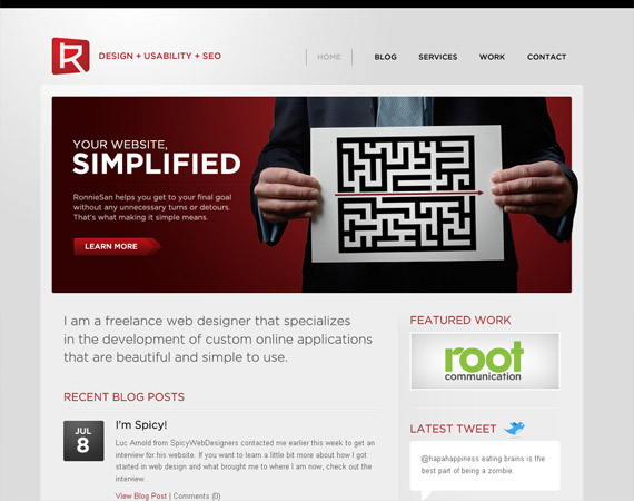 ronnie-san-minimalist-web-design-inspiration