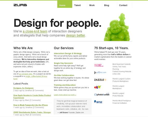zurb-minimalist-web-design-inspiration