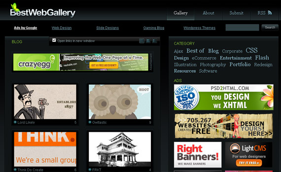 best-web-gallery-blog-showcase-site
