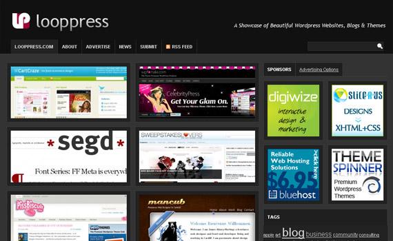 looppress-blog-showcase-site