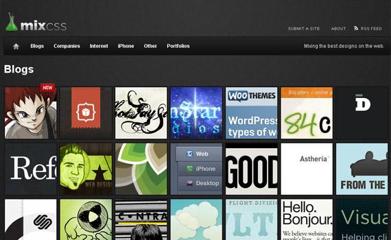 mix-css-website-showcase-site