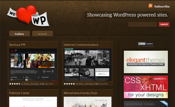 13 Beautiful WordPress Showcase Sites