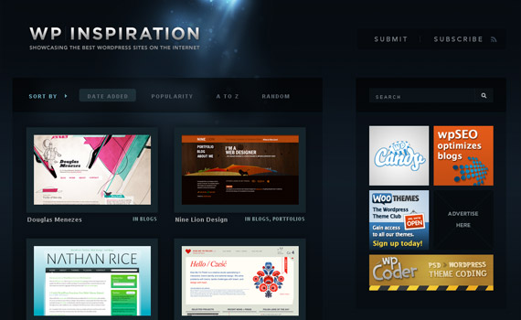 wp-inspiration-blog-showcase-site