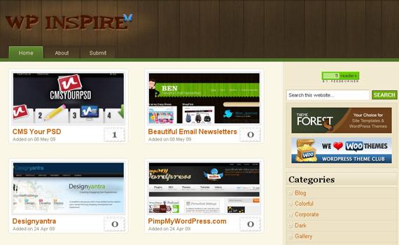 wp-inspire-blog-showcase-site