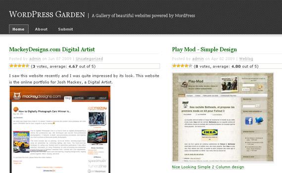 wpgarden-blog-showcase-site